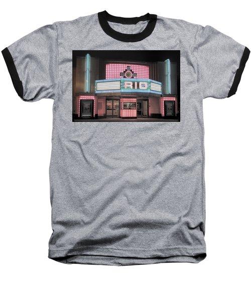 The Rio At Night Baseball T-Shirt by Lynn Sprowl