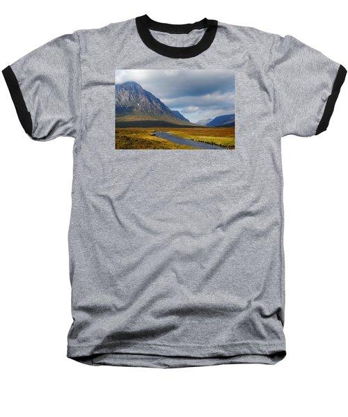 The River Runs Through It Baseball T-Shirt by Wendy Wilton