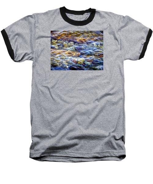 The River Baseball T-Shirt by Susan  Dimitrakopoulos