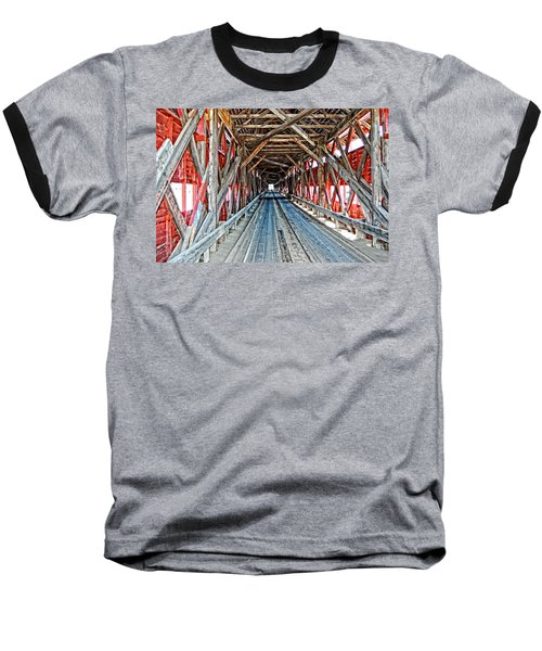 The Road Less Traveled Baseball T-Shirt
