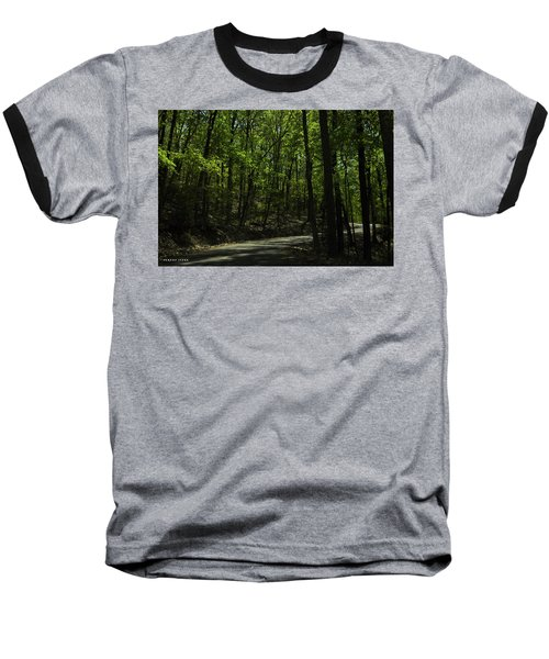 The Roads Of Alabama Baseball T-Shirt