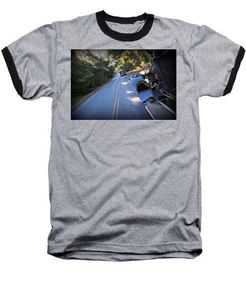 The Roaring Simplex Baseball T-Shirt
