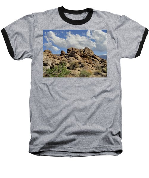 Baseball T-Shirt featuring the photograph The Rock Garden by Michael Pickett