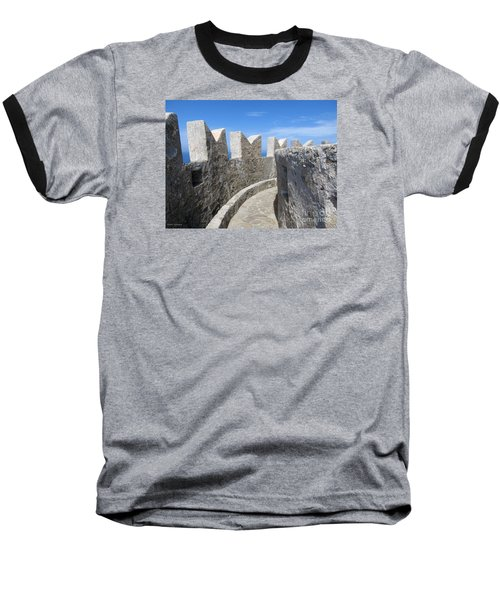 Baseball T-Shirt featuring the photograph The Rocks And The Path by Ramona Matei
