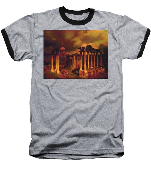 The Roman Forum Baseball T-Shirt by Blue Sky