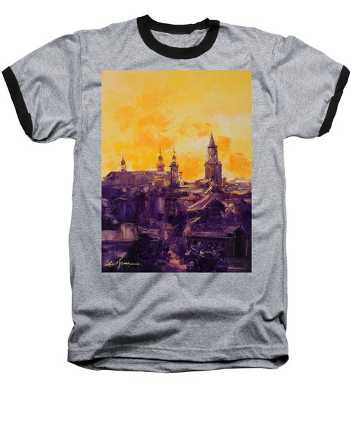 The Roofs Of Lublin Baseball T-Shirt