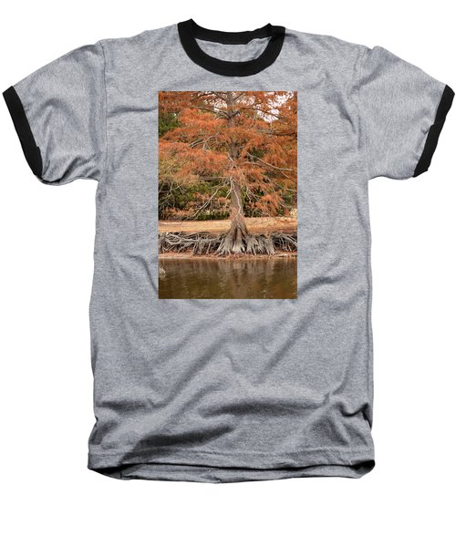 Baseball T-Shirt featuring the photograph The Root Of It All by Rebecca Davis