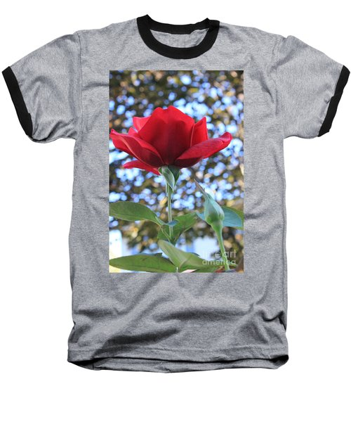 The Rose And Bud Baseball T-Shirt