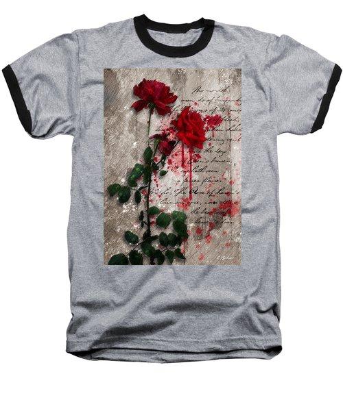 The Rose Of Sharon Baseball T-Shirt by Gary Bodnar