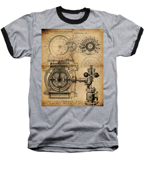 The Rotary Engine Baseball T-Shirt