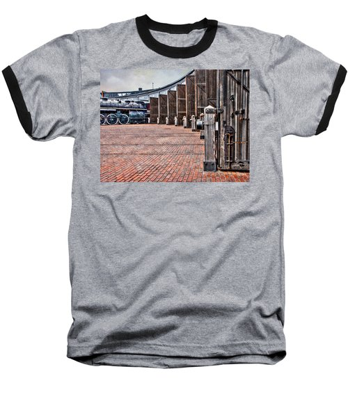 The Roundhouse Baseball T-Shirt by Keith Armstrong