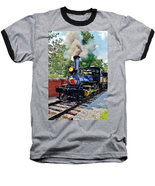 The Rxr At Greefield Village Baseball T-Shirt by Daniel Thompson