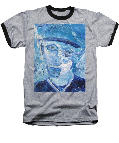 The Sad Man Baseball T-Shirt