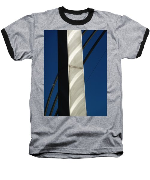 The Sail Sculpture  Baseball T-Shirt