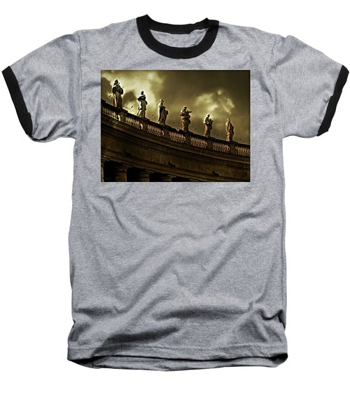 Baseball T-Shirt featuring the photograph The Saints  by Micki Findlay