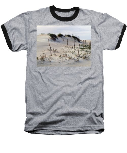 The Sands Of Obx Baseball T-Shirt by Greg Reed