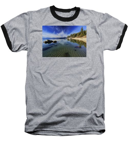 Baseball T-Shirt featuring the photograph The Sands Of Time by Sean Sarsfield