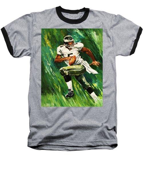 The Scambling Quarterback Baseball T-Shirt