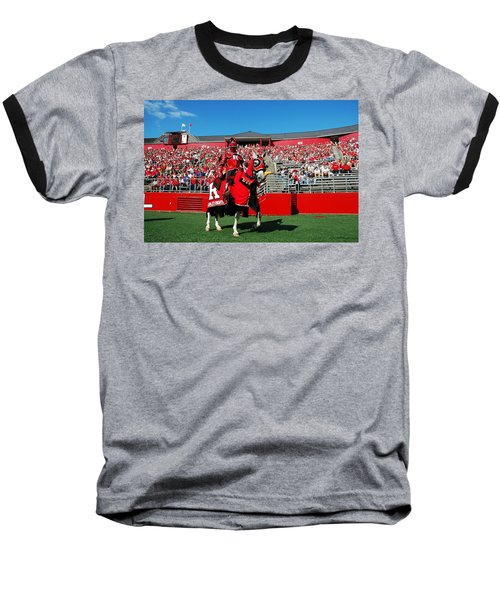 The Scarlet Knight And His Noble Steed Baseball T-Shirt