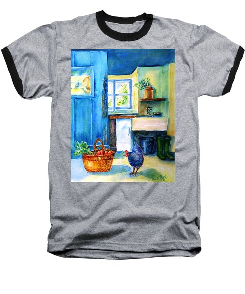 The Scullery  Baseball T-Shirt by Trudi Doyle
