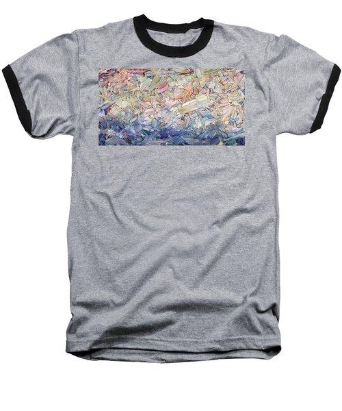 Fragmented Sea Baseball T-Shirt