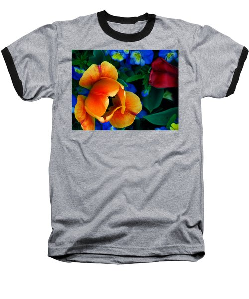 Baseball T-Shirt featuring the photograph The Secret Life Of Tulips by Rory Sagner