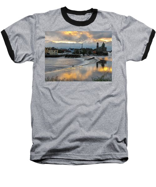 The Shannon River Baseball T-Shirt by Brenda Brown