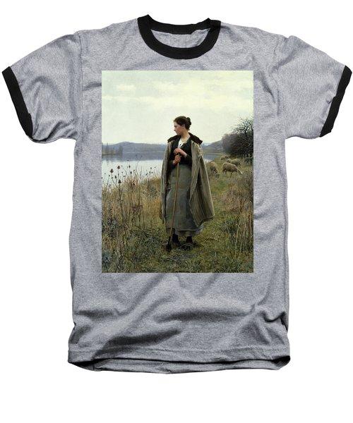 The Shepherdess Of Rolleboise Baseball T-Shirt