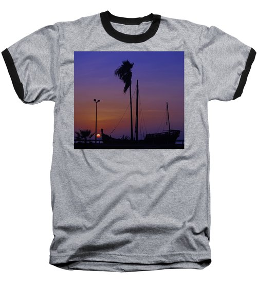 Baseball T-Shirt featuring the photograph The Ship by Leticia Latocki
