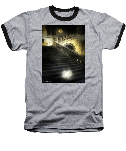 The Shoe Forgotten Baseball T-Shirt by RC deWinter