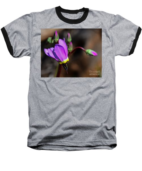 The Shooting Star Wildflower Baseball T-Shirt