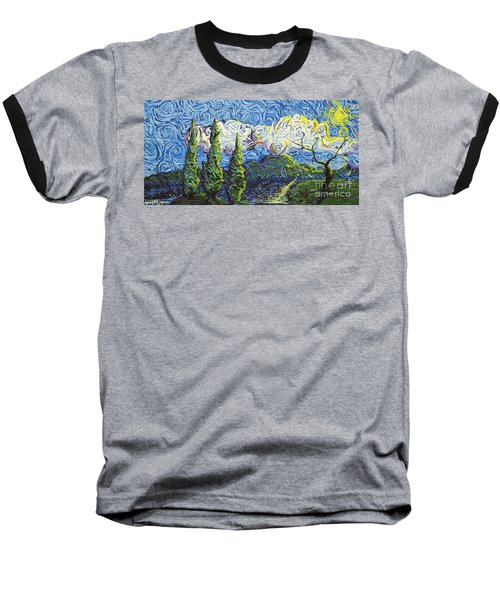 The Shores Of Dreams Baseball T-Shirt