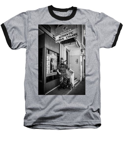 The Sidewalk Humidor  Baseball T-Shirt