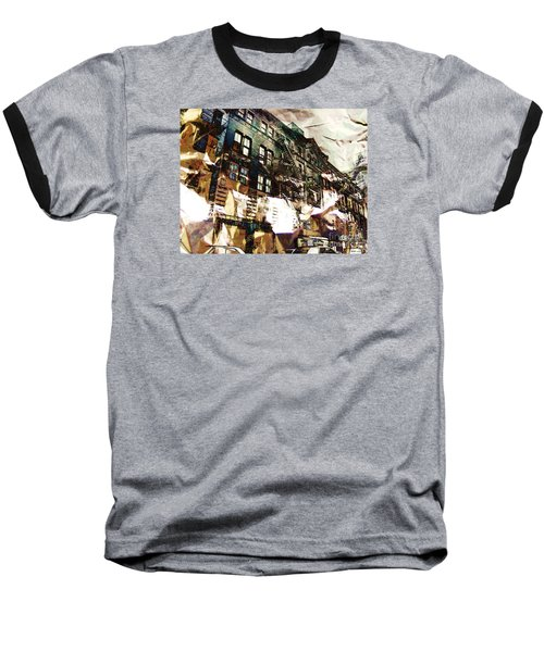 The Silver Factory / 231 East 47th Street Baseball T-Shirt by Elizabeth McTaggart