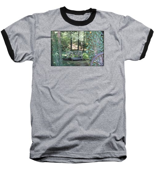 Baseball T-Shirt featuring the photograph The Path by Debra     Vatalaro