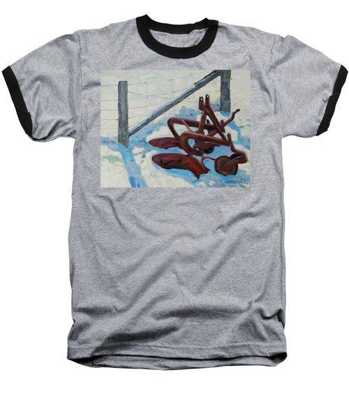 The Snow Plow Baseball T-Shirt