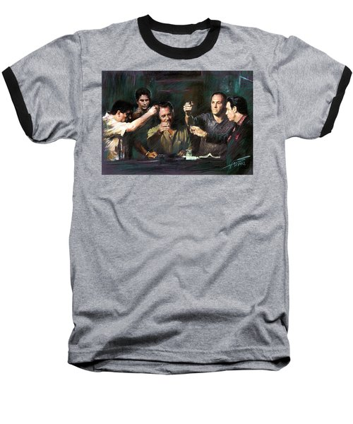 The Sopranos Baseball T-Shirt