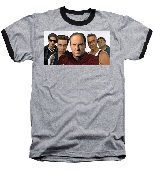 The Sopranos  Artwork 2 Baseball T-Shirt
