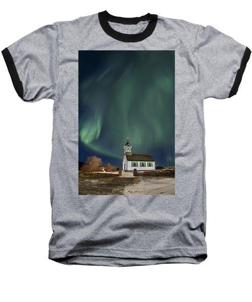The Spirit Of Iceland Baseball T-Shirt