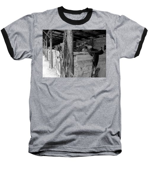 Baseball T-Shirt featuring the photograph Very Stable by Natalie Ortiz