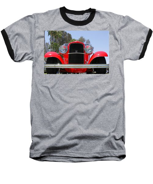 Baseball T-Shirt featuring the photograph The Stare Of A V8 by Shoal Hollingsworth