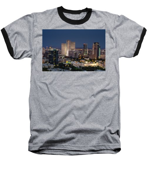 Baseball T-Shirt featuring the photograph The State Of Now by Ron Shoshani