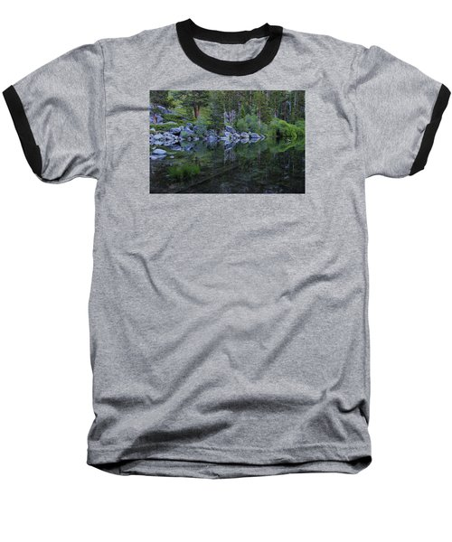 Baseball T-Shirt featuring the photograph The Stillness Of Dawn  by Sean Sarsfield