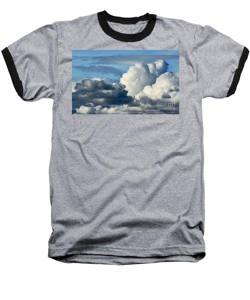 The Storm Arrives Baseball T-Shirt by Susan Wiedmann
