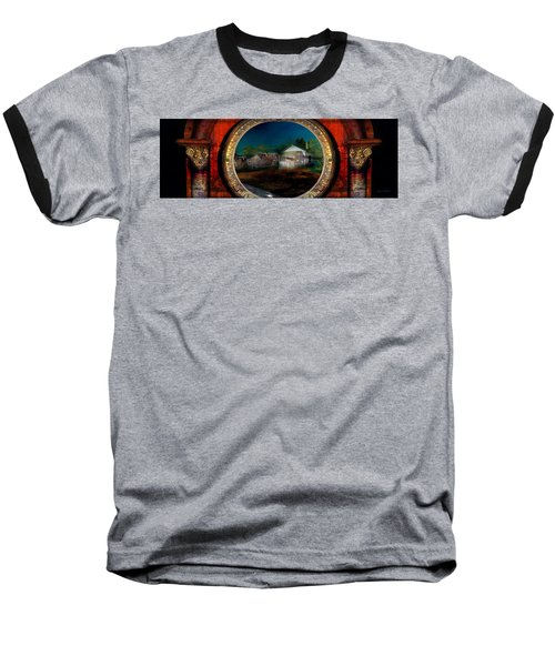 The Street On The River Baseball T-Shirt