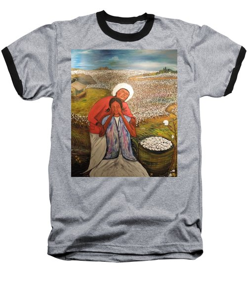 The Strength Of Grandma Baseball T-Shirt