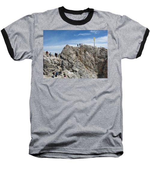 Baseball T-Shirt featuring the photograph The  Summit - 1 by Pema Hou