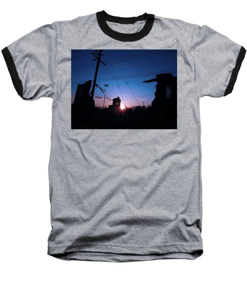 The Sun Also Rises On Ruins Baseball T-Shirt