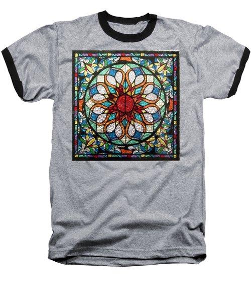The Sun Mandala Baseball T-Shirt