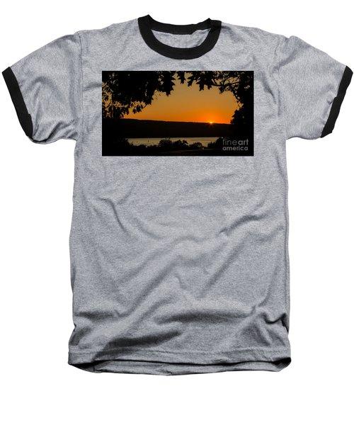 The Sun's Last Wink Baseball T-Shirt